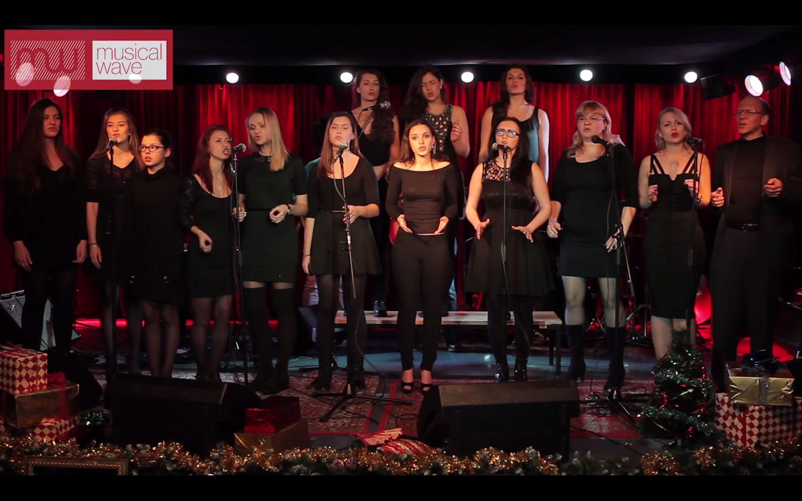 Видеоотчет с новогоднего концерта Musical Wave 21.12.2014